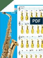 digitação sax