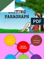 Writing Paragraph Writing