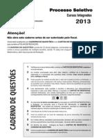 Intituo Federal 2013 Integrado Rj