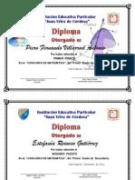 Diplomas Mate Secundaria Ultimo