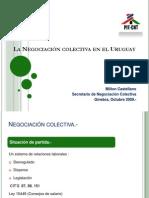 La Negociacion Colectiva en El Uruguay -1