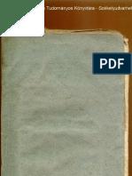 Jász-Berény Várasában lévő Leel Kürthének, vagy Jász-Kürtnek esmérete