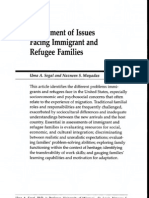 Assessment of Issues Facing Refugee Families