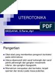 Obat uterotonika KLOMPOK 13