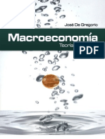 Macroeconomia de Jose Gregorio