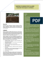 A Case Study - Centre of Science for Villages
