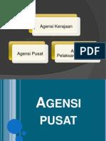 Agensi   pusat