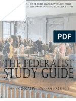 Federalist Number One Study Guide