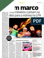 Atletas mineiros irão compor a primeira liga profissional de Futebol Americano no Brasil