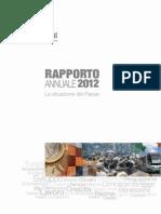 Rapporto annuale - 2012