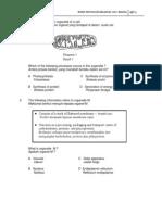 Paper 1 Question