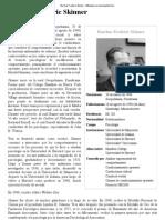 Burrhus Frederic Skinner - Wikipedia, La Enciclopedia Libre