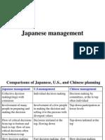 Japanesh Management