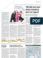 Trouw 18 februari 2012 - Friso bedolven onder lawine