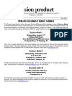 Rhode Island Science Cafe Series