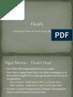 [PowerPoint] Algor Mortis