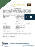 REGISTRÓ DE COMERCIO DE BOLIVIA1