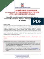 Procedimentos Afe Site Sesa