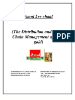 The Distribution and Supply Chain Management of Amul Gold