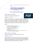 Temario del Segundo Taller de Actualización en Corrección de Textos (Segunda edición)