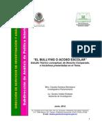 Bullying o acoso escolar (diputados, estudio comparativo).pdf