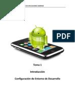 Tema 1. Introduccion. Configuracion de Entorno de Desarrollo