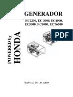 Generador Honda EC[1]