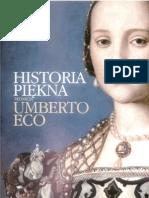 Eco Umberto - Historia piękna