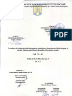PS-03 Procedura de Sistem Privind Intocmirea, Actualizarea Si Aprobarea Fiselor de Post La Nivelul Ministerului Muncii, Familiei Si Protectiei Sociale