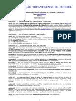 Normas Especiais Profissional 2ª Divisão 2013