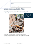 Waste Recovery Quick Wins FINAL