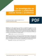 A5 La Investigacion en Comunicacion y Publicidad-nuevos Temas y Problemas