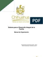 Manual de Organizacion Del Dif