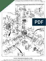 tecumseh service manual carburetor ignition system 7 HP Tecumseh Engine Diagram