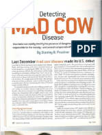 Detecting Mad Cow Disease