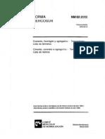 NBR 2 - Cimento Concreto e Agregados - Terminologia - Lista de Termos