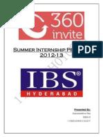 Summer Internship Program Project