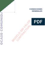 SEGUROS OCASO - COMUNIDADES