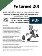 20th Anniversary Fun Tourneys!