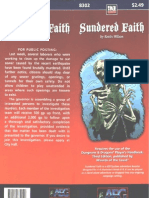 AEG8302 - Sundered Faith (6-8)
