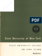 SUNY State University College on Long Island 1958-1959 Undergraduate Bulletin