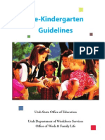 Prekindergarten Guidelines Final Draft