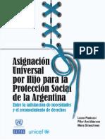 UNICEF-CEPAL - Asignación Universal en la Argentina para la protección social de la Argentina