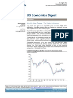 Credit Suisse, US Economics Digest, Aug 2, 2013. Monthly Jobs Review