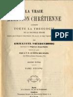 Em Swedenborg LA VRAIE RELIGION CHRETIENNE-11sur11-LeBoysDesGuays 1878