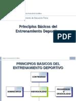 POWER POINT PRINCIPIOS BASICOS DE ENTRENAMIENTO