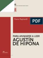 Rapisardi, Flavio - Para Animarse a Leer a Agustin de Hipona