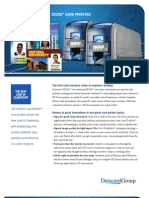 Datacard SD360 & SD260 ID Card Printer Brochure