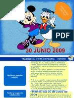 Programa Fiesta Infantil NX Madrid 01 Paredes