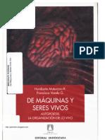 De Maquinas y Seres Vivos-Humberto Maturana y Francisco Varela